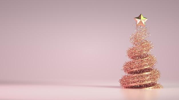 Fundo de férias de natal de luxo bonito.