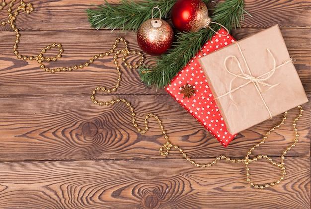 Fundo de férias de natal e ano novo