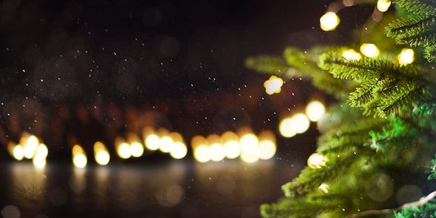 Fundo de férias de natal e ano novo.