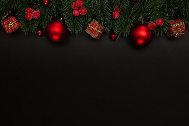 Fundo de férias de natal.
