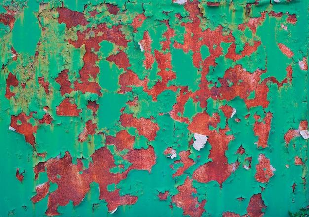 Fundo de ferro oxidado