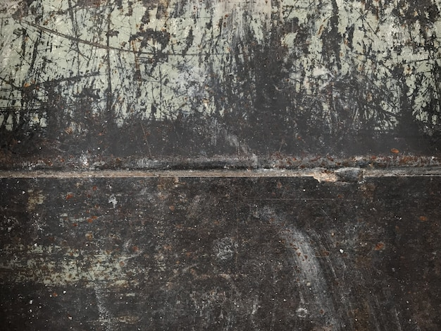 Fundo de ferrugem de metal, ferrugem no antigo fundo de parede