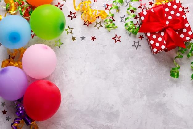 Fundo de festa de aniversário