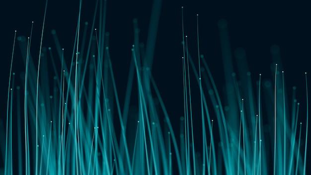 Fundo de fibra óptica