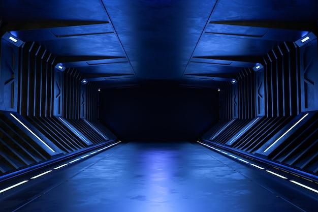 Fundo de ficção científica futurista moderno