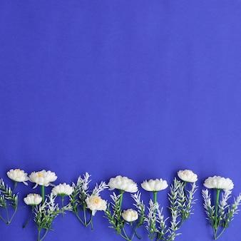 Fundo de flores coloridas agradável