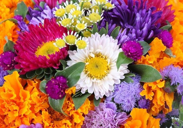 Fundo de flores
