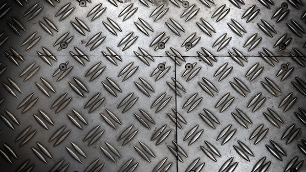 Fundo de folha de metal antiderrapante cor prata