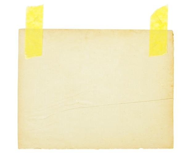 Fundo de folha de papel envelhecido