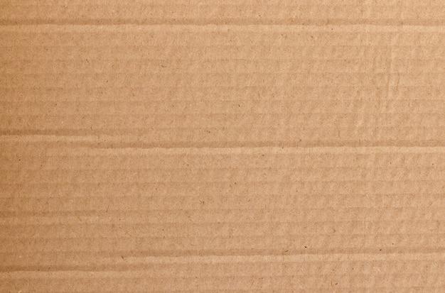 Fundo de folha de papelão marrom