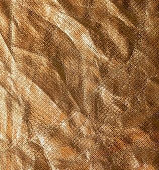 Fundo de folha dourada amassado