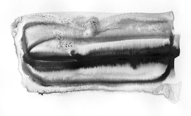 Fundo de forma abstrata de tinta preta.