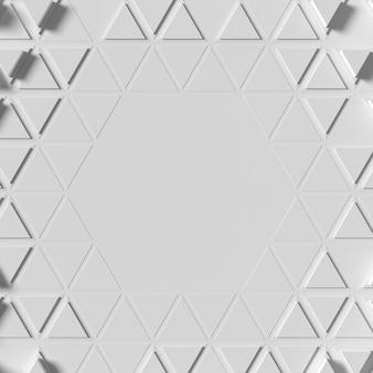 Fundo de formas geométricas poligonais
