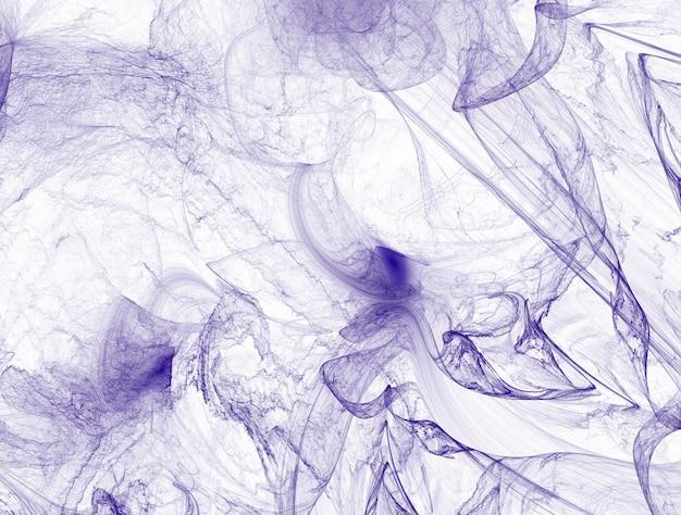 Fundo de fractal roxo