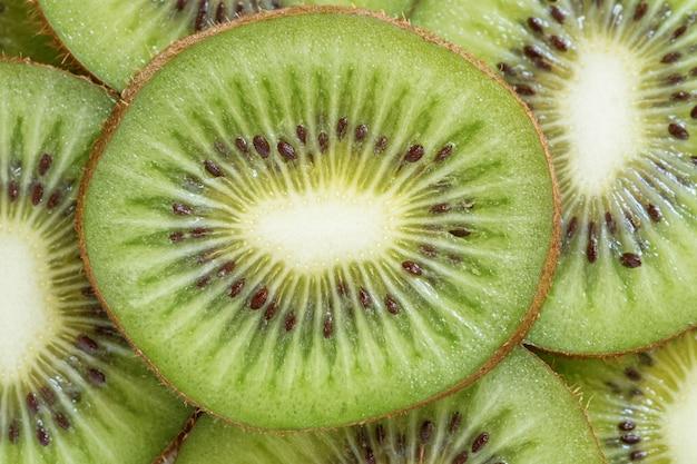 Fundo de fruta kiwi fresco