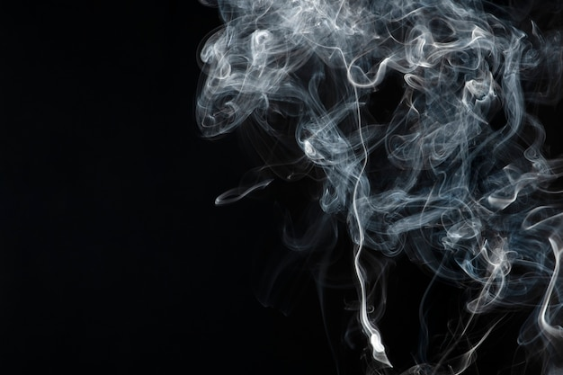 Fundo de fumaça escura, papel de parede texturizado em alta resolução