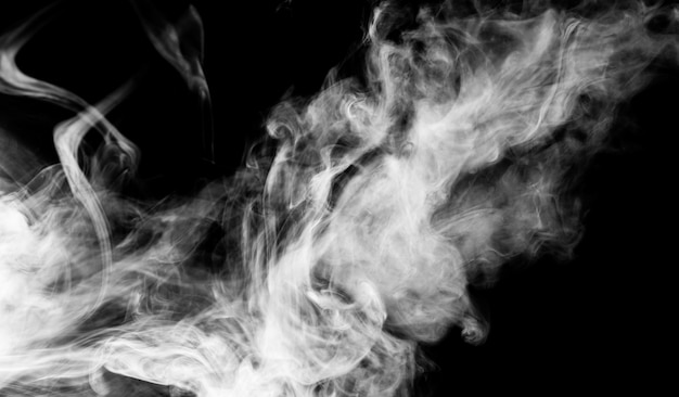 Fundo de fumo denso
