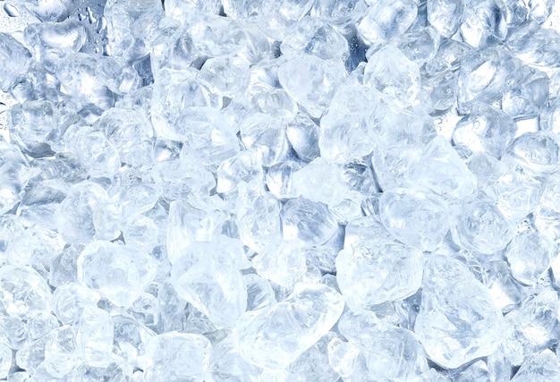 Fundo de gelo picado