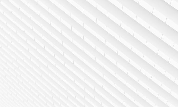 Fundo de gesso abstrato branco. arquitetura e conceito de interiores. renderização de ilustração 3d