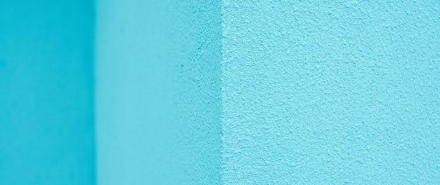 Fundo de gesso azul ou textura turquesa de padrão áspero. textura de parede turquesa. concreto azul