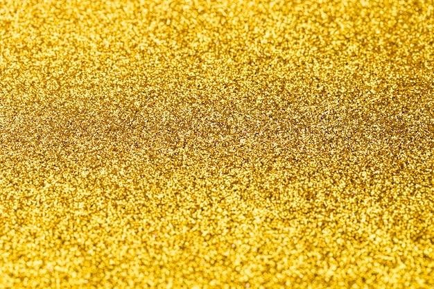 Fundo de glitter dourado