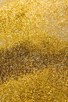 Fundo de glitter dourados, bokeh