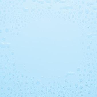 Fundo de gotas de água