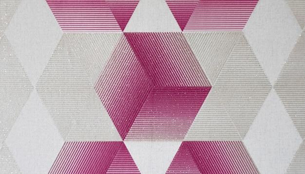 Fundo de gráficos de forma quadrada rosa