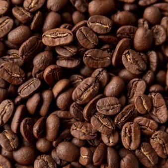 Fundo de grãos de café torrado