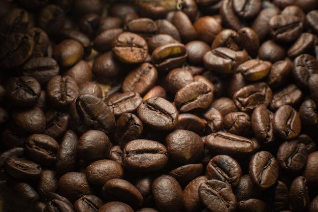 Fundo de grãos de café