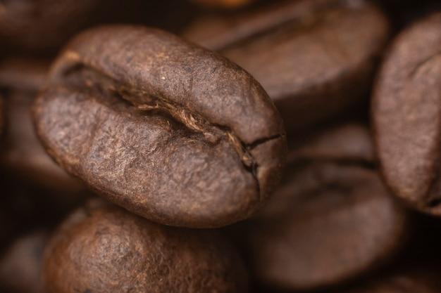 Fundo de grãos de café.