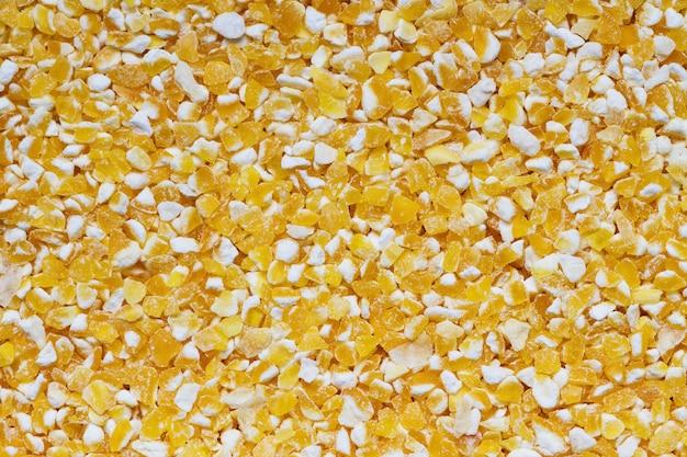Fundo de grãos de milho.