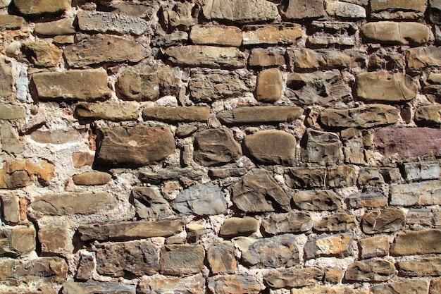 Fundo de grunge de parede de textura de alvenaria envelhecido