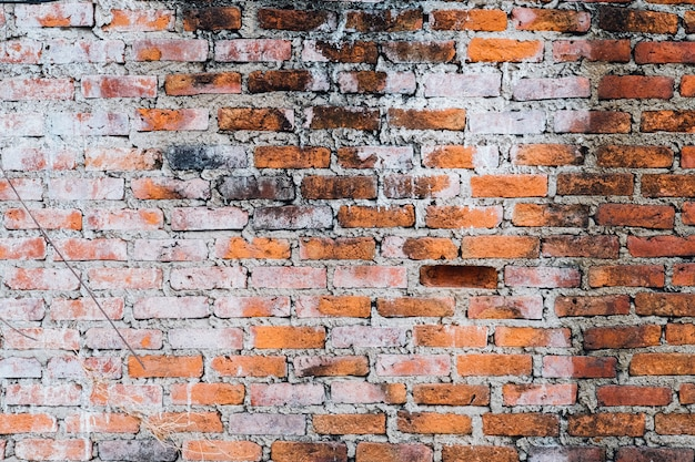 Fundo de grunge de parede de tijolo