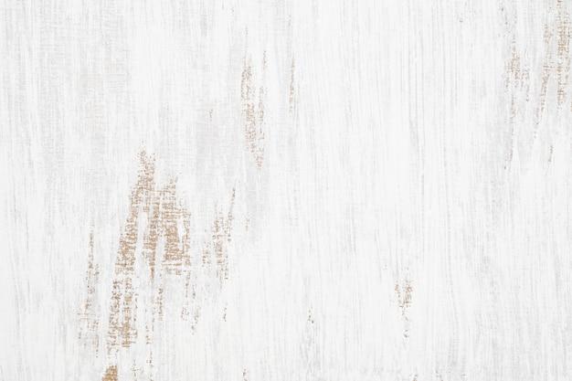 Fundo de grunge enferrujado sem costura textura de madeira pintada de branco