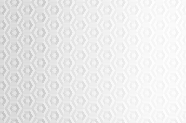Fundo de hexágonos e círculos baseados em grade hexagonal