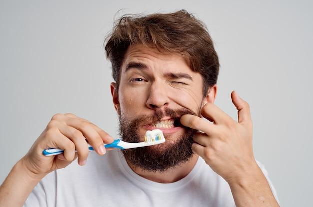 Fundo de homem, atendimento odontológico, odontologia, dor de dente isolada