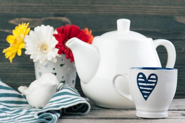 Fundo de hora do chá