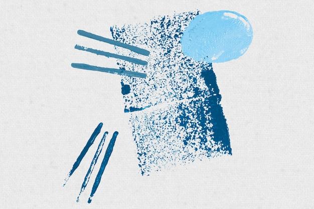 Fundo de impressão de bloco retângulo azul