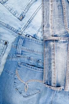 Fundo de jean. textura de jeans azul denim