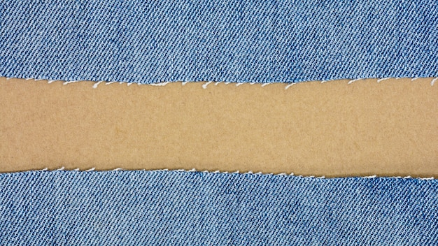 Fundo de jeans azul e textura