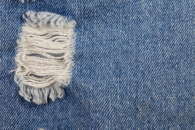 Fundo de jeans azul velho