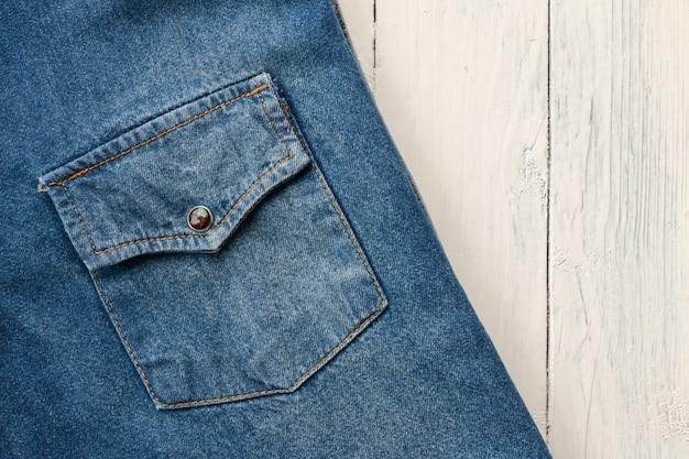 Fundo de jeans