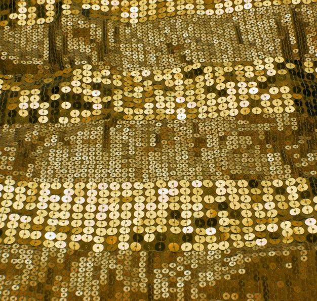Fundo de lantejoulas de ouro