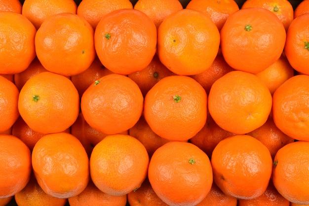 Fundo de laranja mandarim.