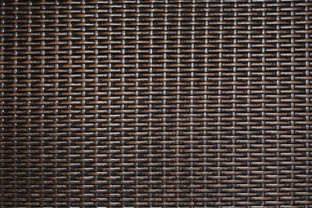 Fundo de linha de vime de bambu