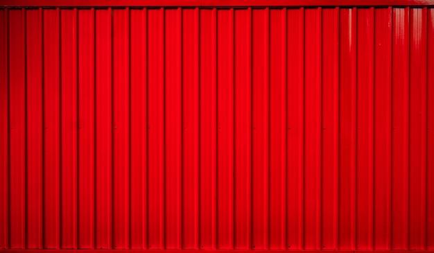 Fundo de linha listrado de contêiner caixa vermelha