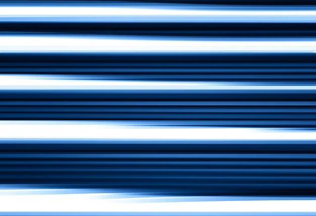 Fundo de linhas de desfoque de movimento azul horizontal hd