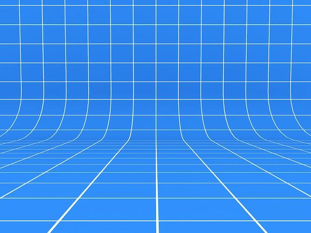 Fundo de linhas de grade azuis