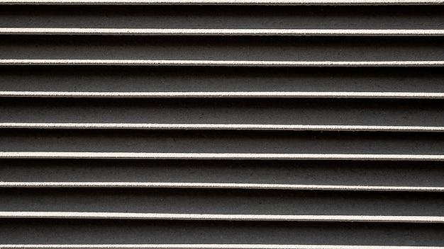 Fundo de linhas horizontais de metal inoxidável